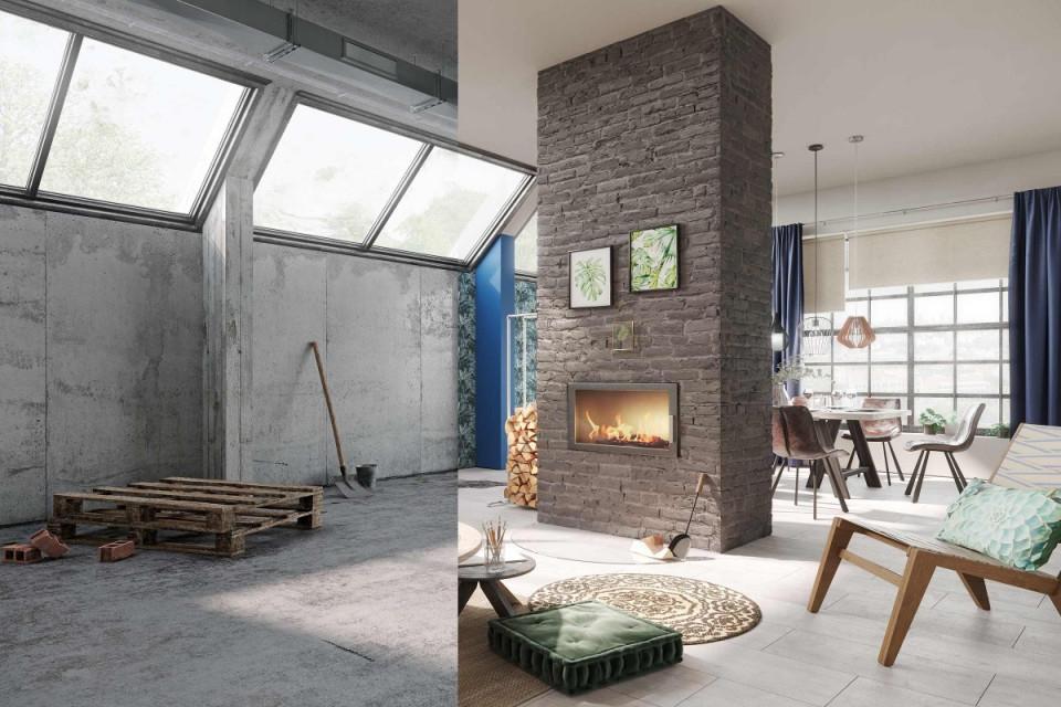 Wohnzimmer Einrichten  Gestalten Mit Hornbach von Wohnzimmer Mit Tapete Gestalten Photo