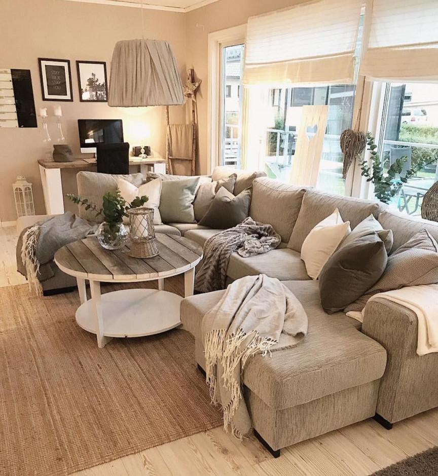 Wohnzimmer Einrichten Grau Design von Graue Deko Wohnzimmer Bild