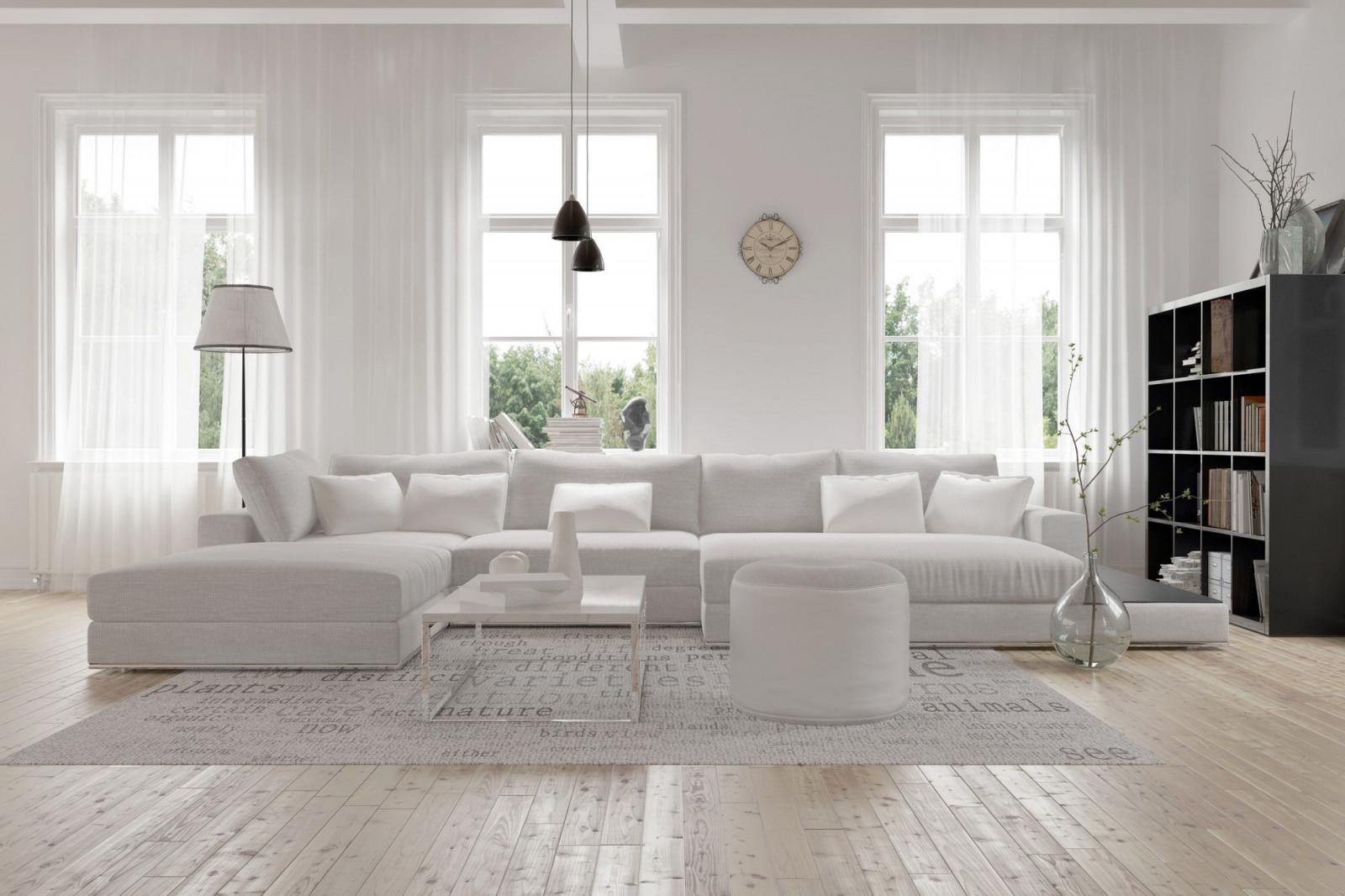 Wohnzimmer Einrichten Mit Vielen Fenstern  Wohnzimmer von Wohnzimmer Mit Vielen Fenstern Einrichten Bild