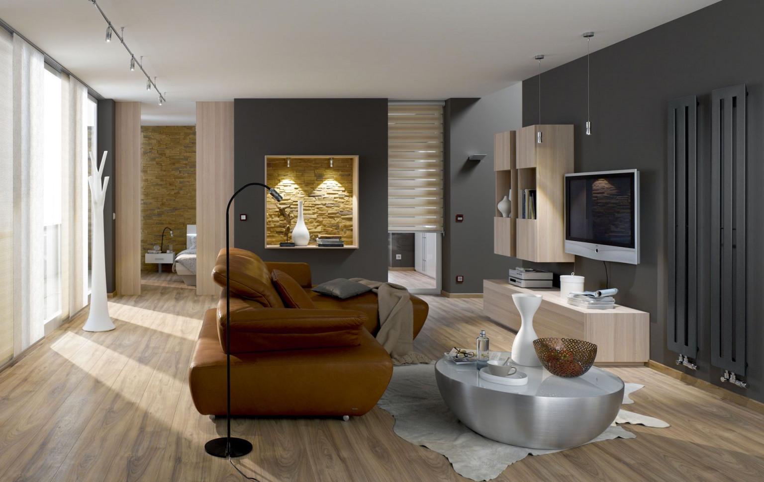 Wohnzimmer  Einrichten Und Wohlfühlen  Bauemotion von L Wohnzimmer Einrichten Photo