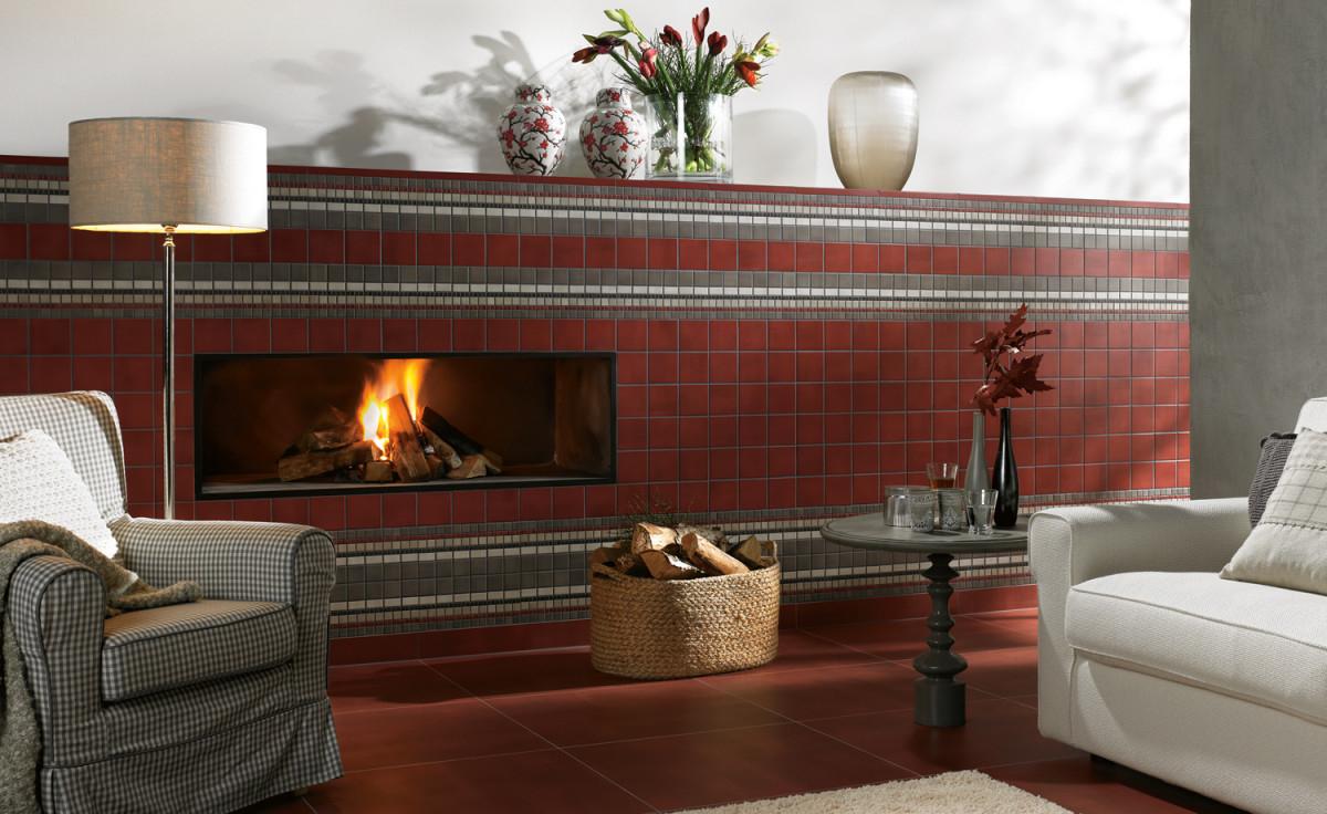 Wohnzimmer  Gemütlich Rustikal  Raumideen von Wohnzimmer Rustikal Gestalten Bild