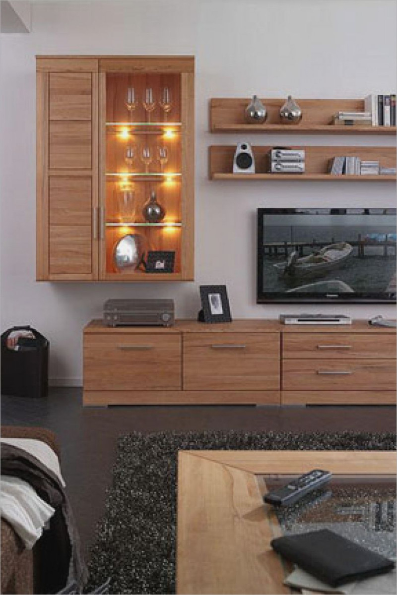 Wohnzimmer Holzmöbel Cool Bild Wohnzimmer Massivholz von Wohnzimmer Ideen Holzmöbel Bild