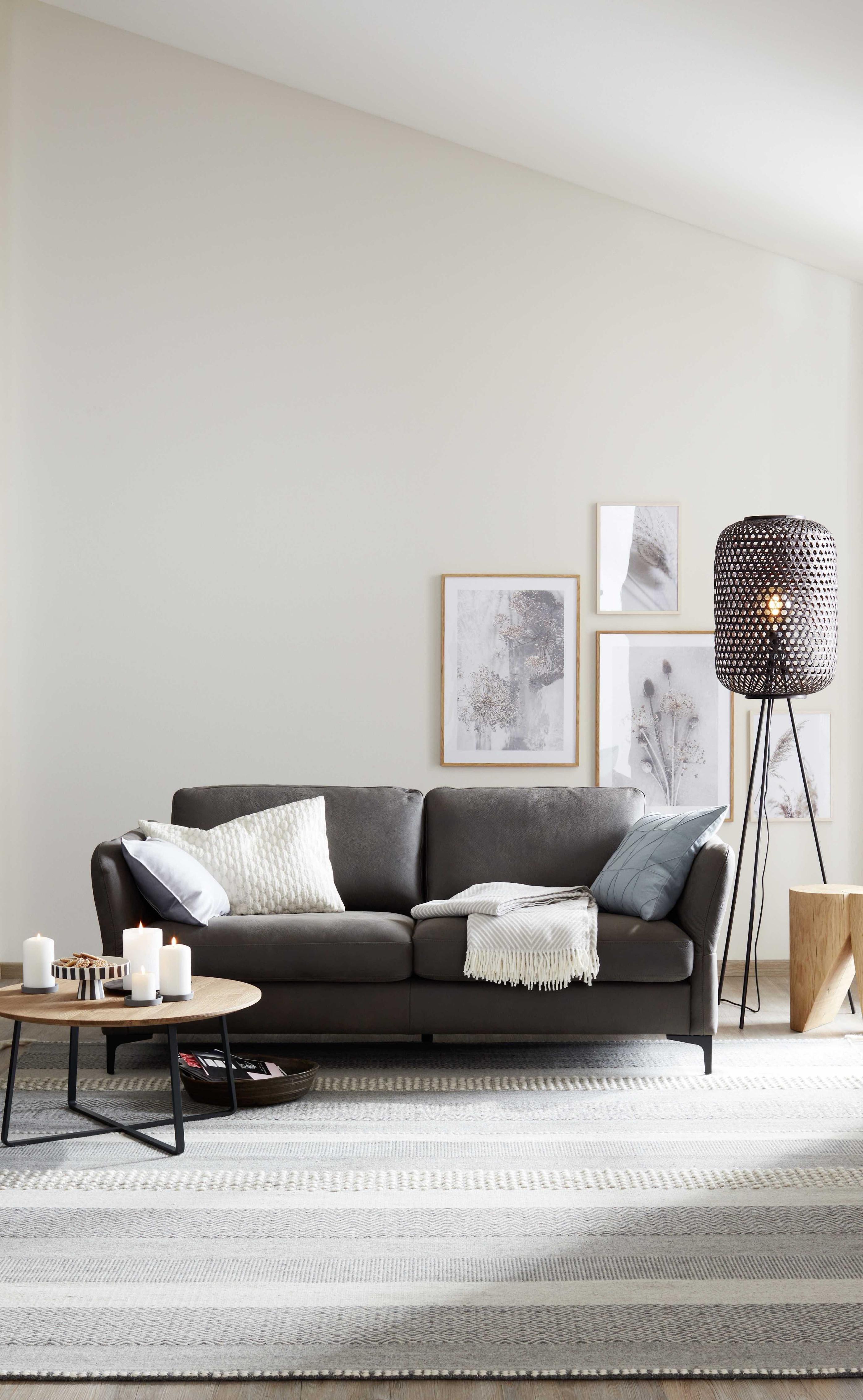 Wohnzimmer Idee Sofa Timeless Grau Schöner Wohnenkollektion von Schöner Wohnen Ideen Wohnzimmer Bild