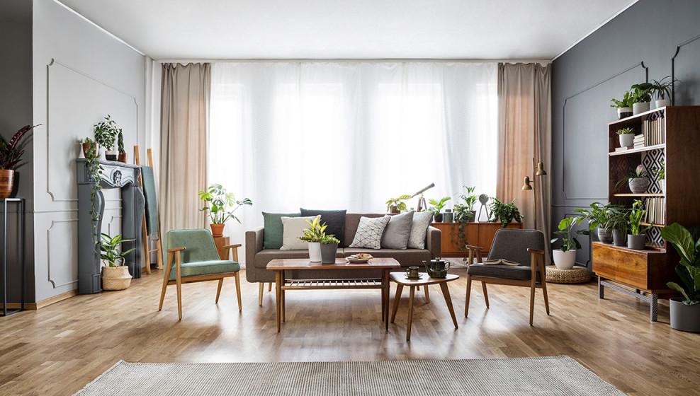 Wohnzimmer Ideen  6 Einrichtungsstile Und Viel Inspiration von Retro Wohnzimmer Ideen Bild