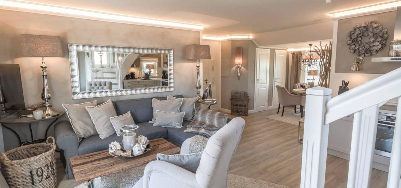 Wohnzimmer Ideen Landhausstil Modern Luxury Weihnachtsdeko von Wohnzimmer Einrichten Landhausstil Modern Bild