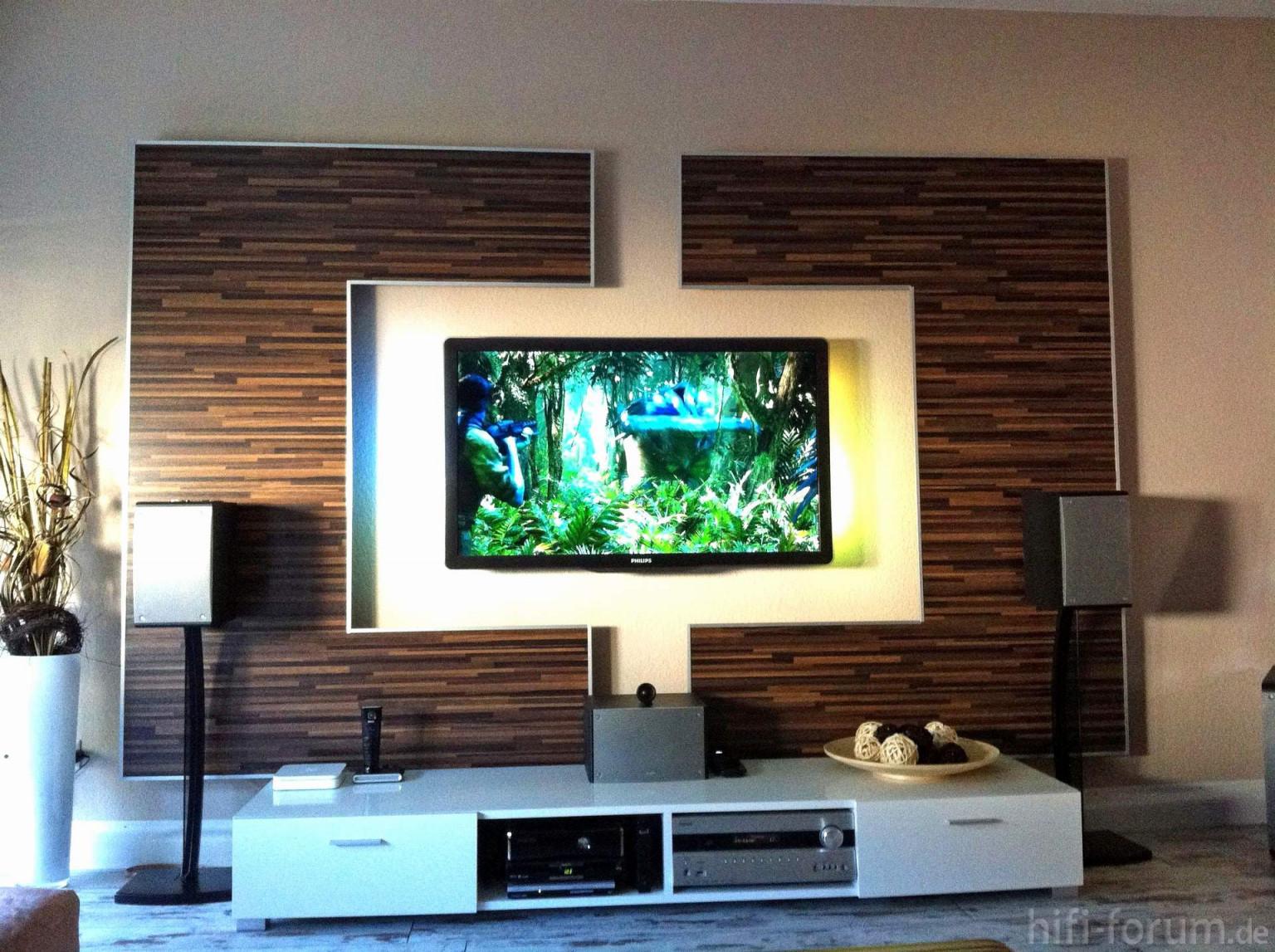 Wohnzimmer Ideen Tv Wand Genial 65 Luxus Wohnideen Tv Wand von Wohnzimmer Ideen Holz Photo