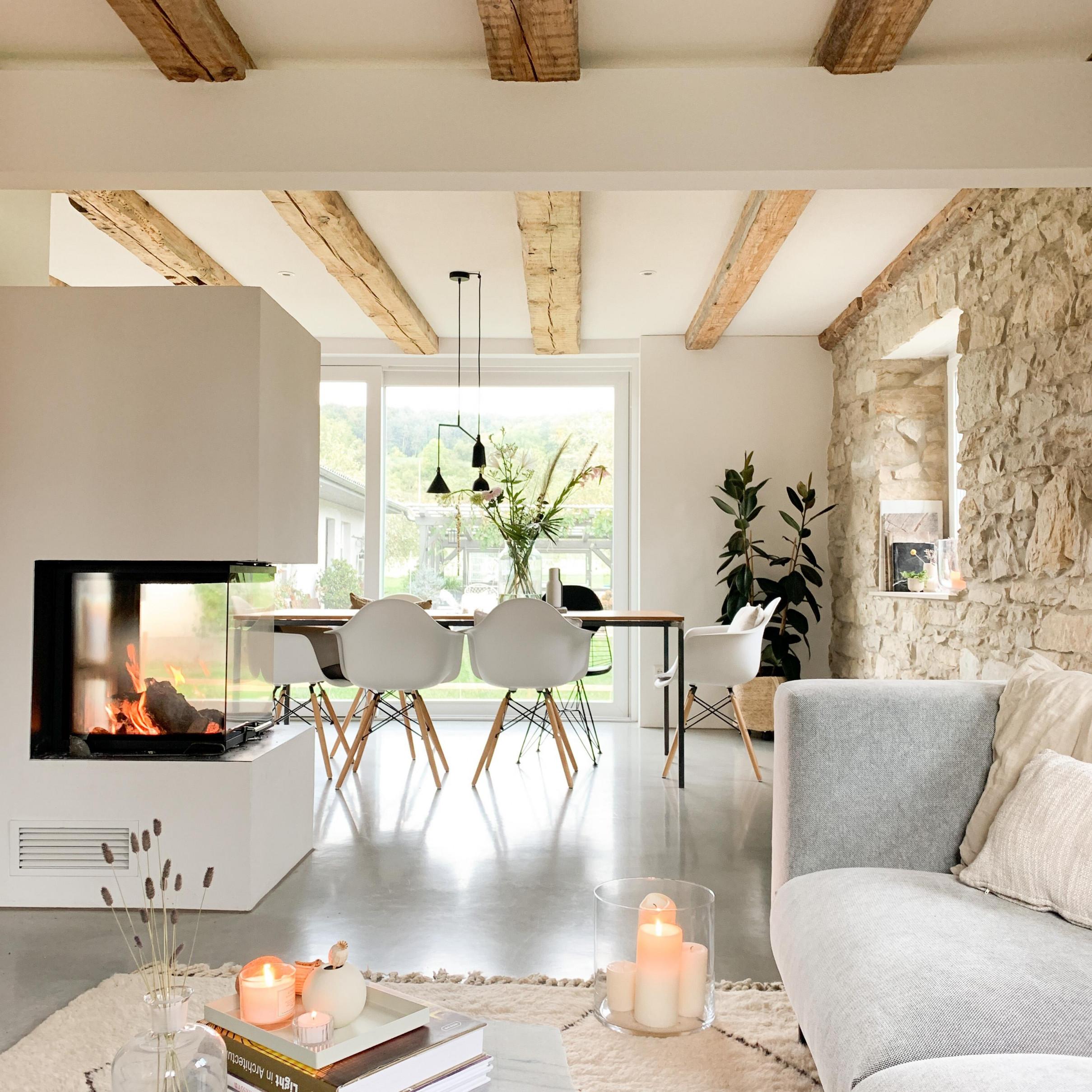 Wohnzimmer  Ideen Und Bilder Bei Couch von Bilder Ideen Wohnzimmer Bild