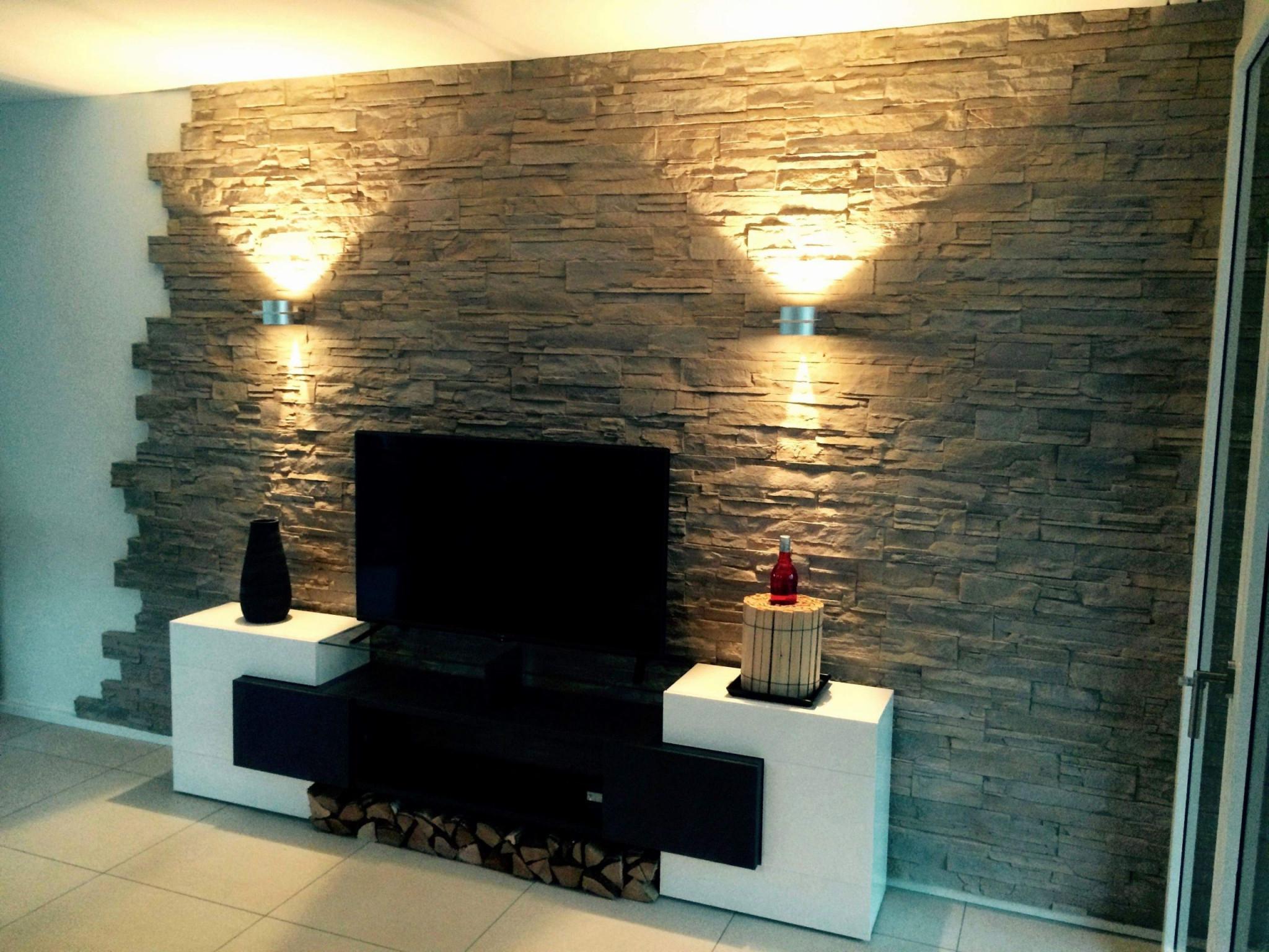 Wohnzimmer Ideen Wandgestaltung Grau Das Beste Von von Wohnzimmer Ideen Wände Photo