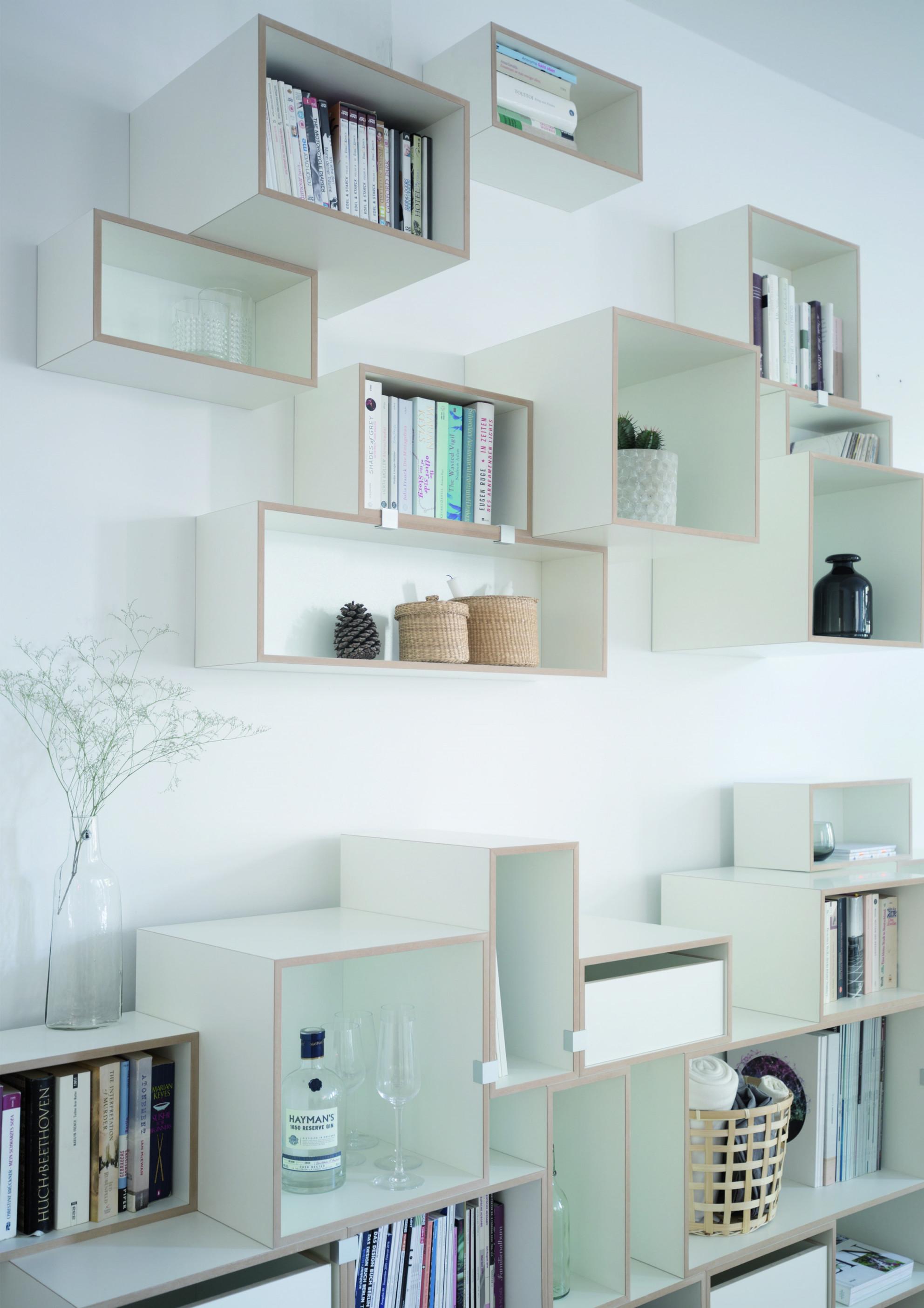 Wohnzimmer Inspiration Regalsystem Einrichtung Wohnen von Wandregal Wohnzimmer Ideen Photo