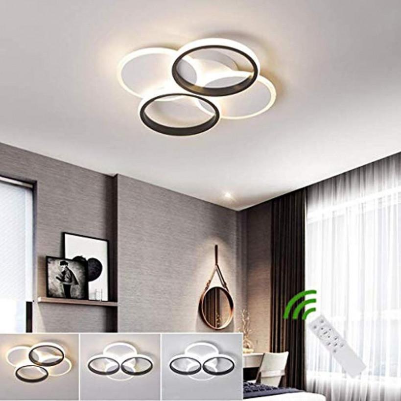 Wohnzimmer Lampe Dimmbar Fernbedienung von Wohnzimmer Deckenleuchte Led Dimmbar Photo