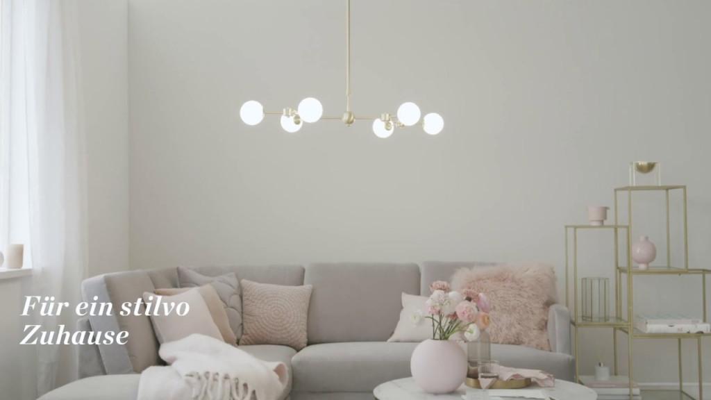 Wohnzimmer Lampen  Westwing von Gemütliche Wohnzimmer Lampe Bild