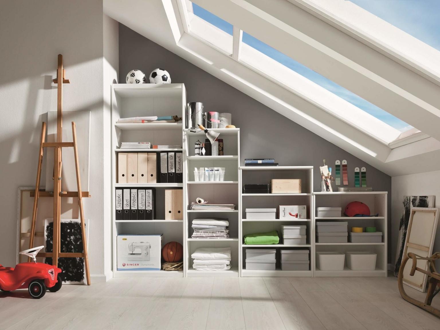 Wohnzimmer Mit Dachschräge So Wird Es Hell Praktisch Und von Wohnzimmer Dachschräge Einrichten Photo