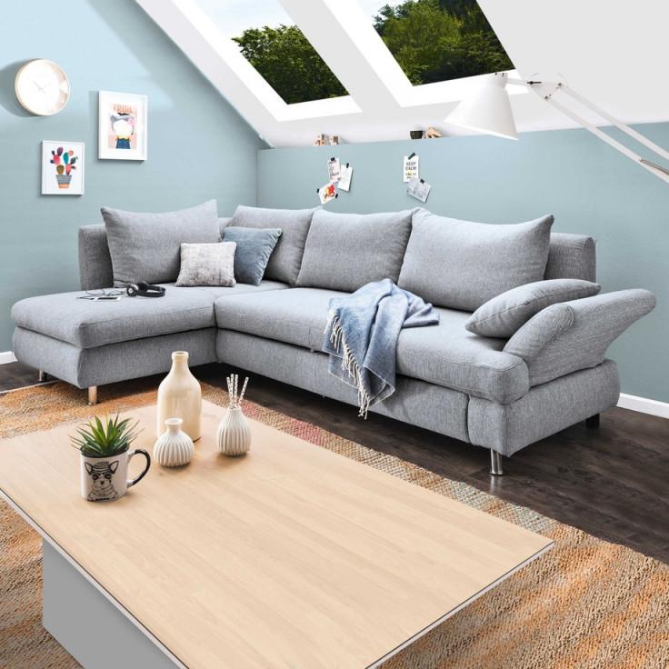 Wohnzimmer Mit Dachschräge So Wird Es Hell Praktisch Und von Wohnzimmer Mit Dachschräge Einrichten Bild