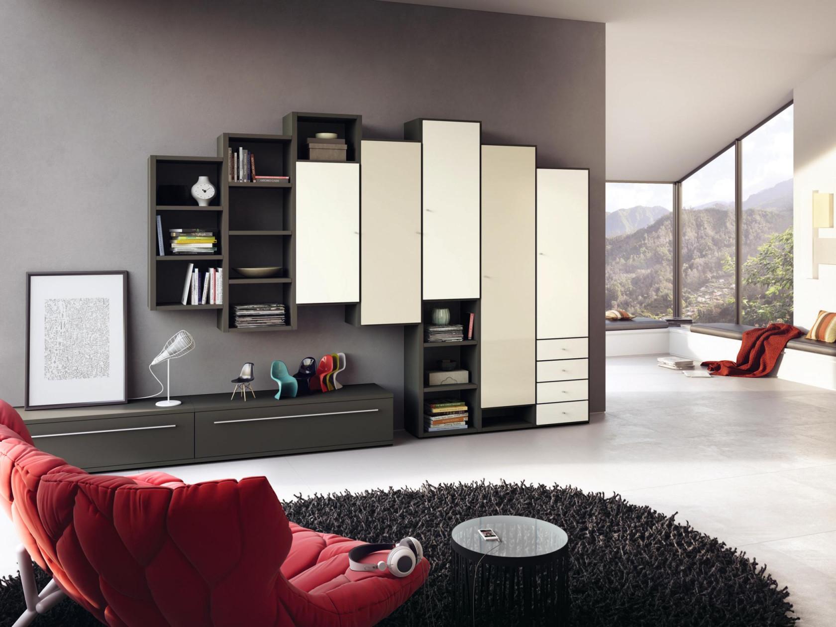 Wohnzimmer Mit Wohnwand Gestalten Tvmöbel Wohnwand von Wohnwand Gestalten Wohnzimmer Bild
