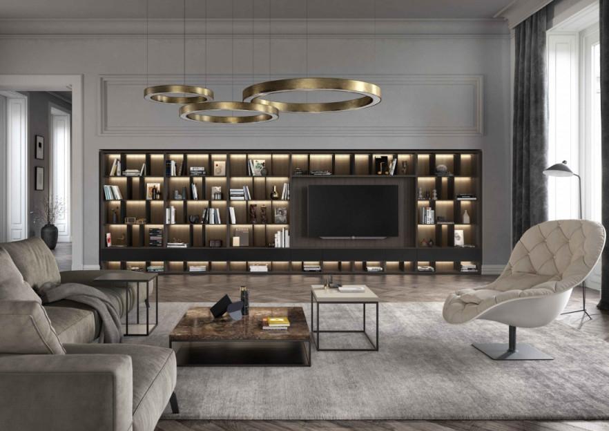 Wohnzimmer Modern – Egger's Einrichten von Moderne Einrichtung Wohnzimmer Bild