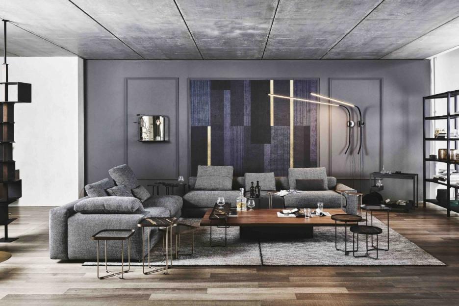 Wohnzimmer Modern – Egger's Einrichten von Wohnzimmer In Grau Gestalten Photo