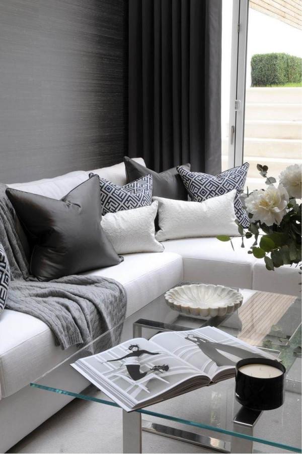 Wohnzimmer Modern Einrichten  Kalte Oder Warme Töne von Wohnzimmer Warm Gestalten Bild