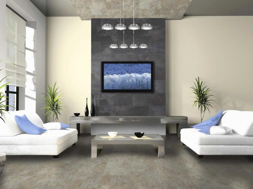 Wohnzimmer Rustikal Modern Das Beste Von Tv Wand Dekorieren von Deko Rustikal Wohnzimmer Bild