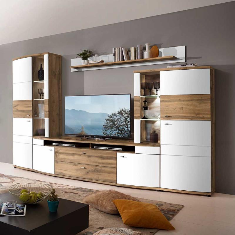 Wohnzimmer Schrankwand Mulova von Moderne Schrankwand Wohnzimmer Bild
