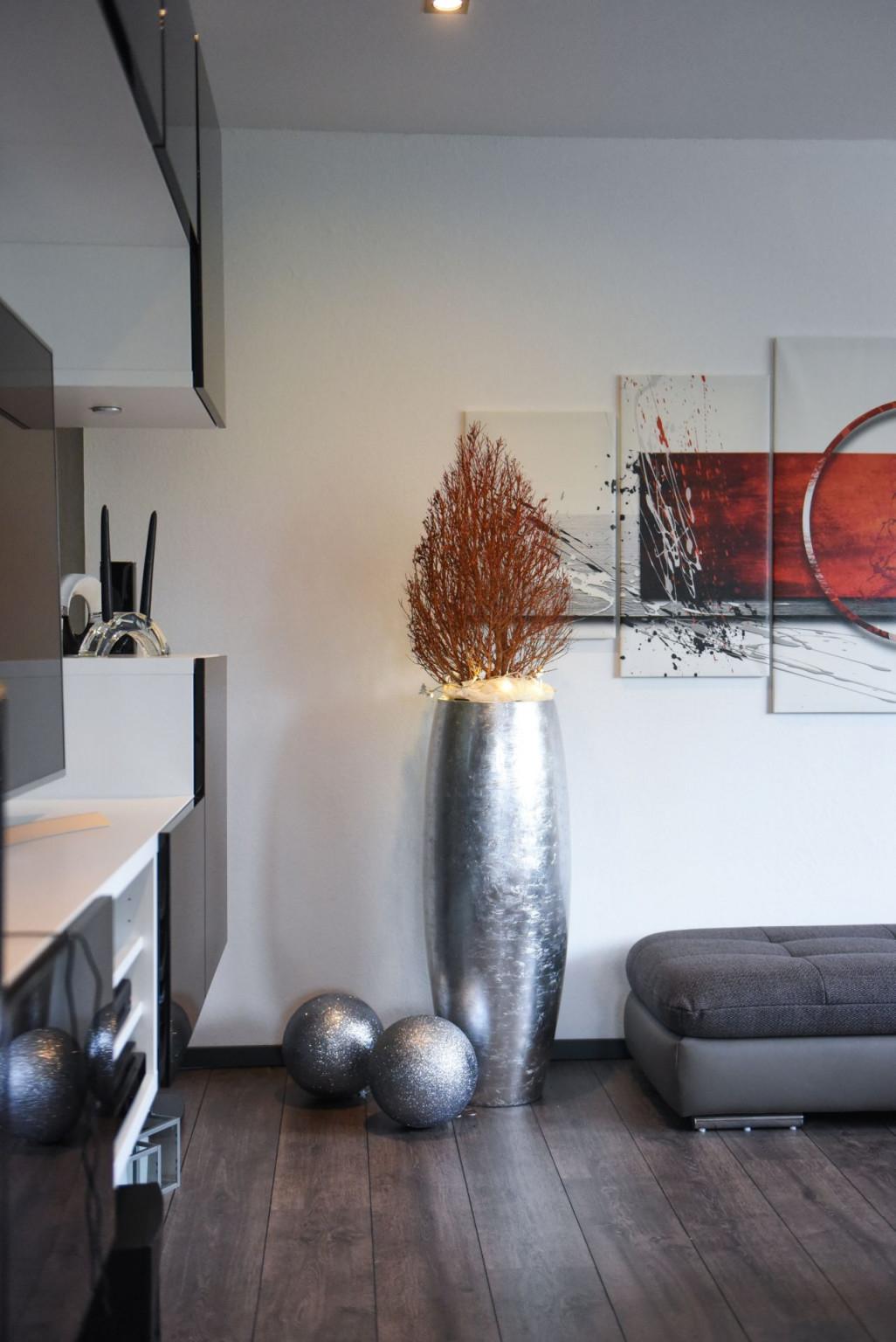 Wohnzimmer Skandinavisch Dekorieren – Caseconrad von Silber Deko Wohnzimmer Photo