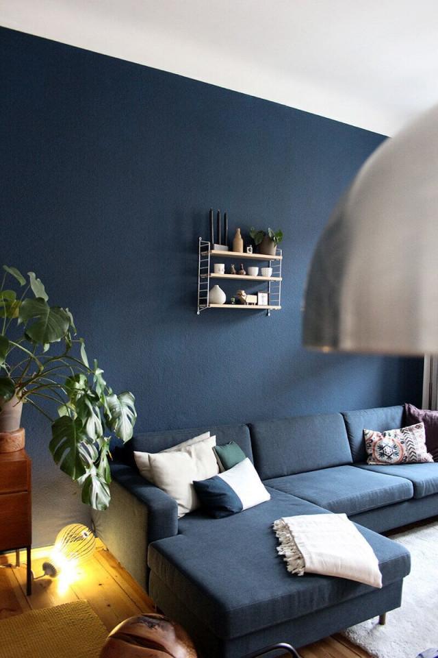 Wohnzimmer Streichen Meine Neue Wandfarbe  Newniq von Wohnzimmer Wände Farbig Gestalten Photo