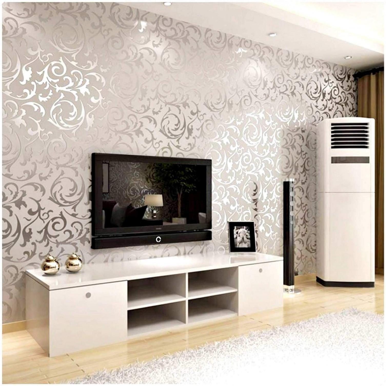 Wohnzimmer Tapete Modern Luxus 32 Frisch Tapeten Wohnzimmer von Tapeten Wohnzimmer Modern Grau Bild