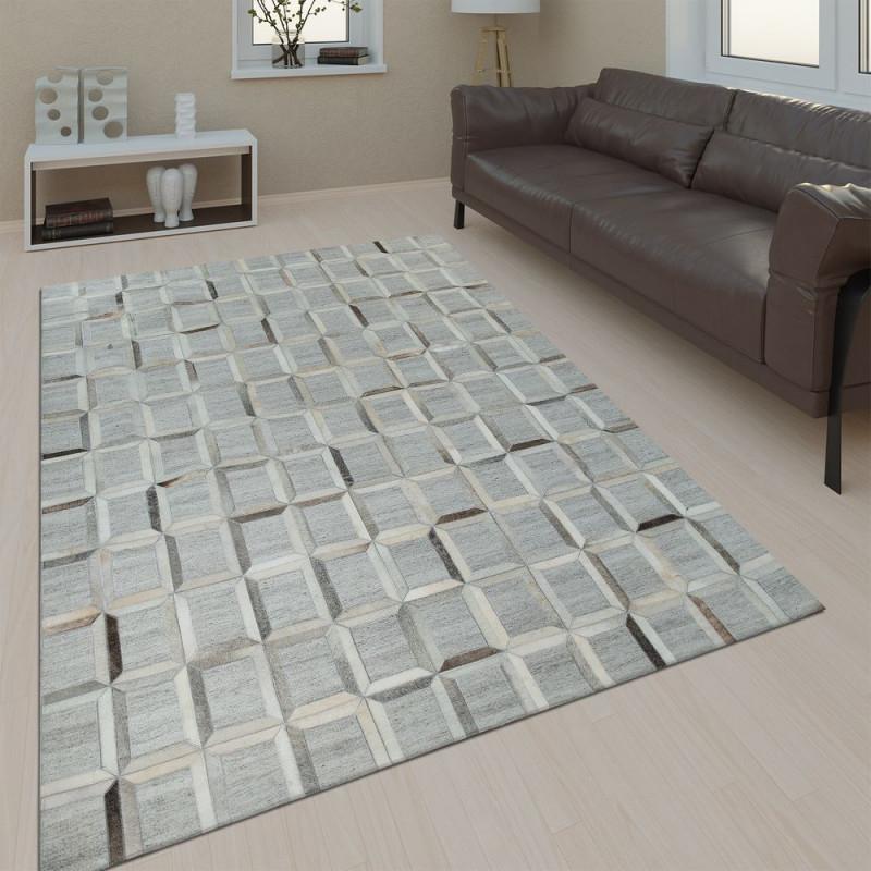 Wohnzimmer Teppich Leder Wolle Muster Viereck von Teppich Wohnzimmer Wolle Photo