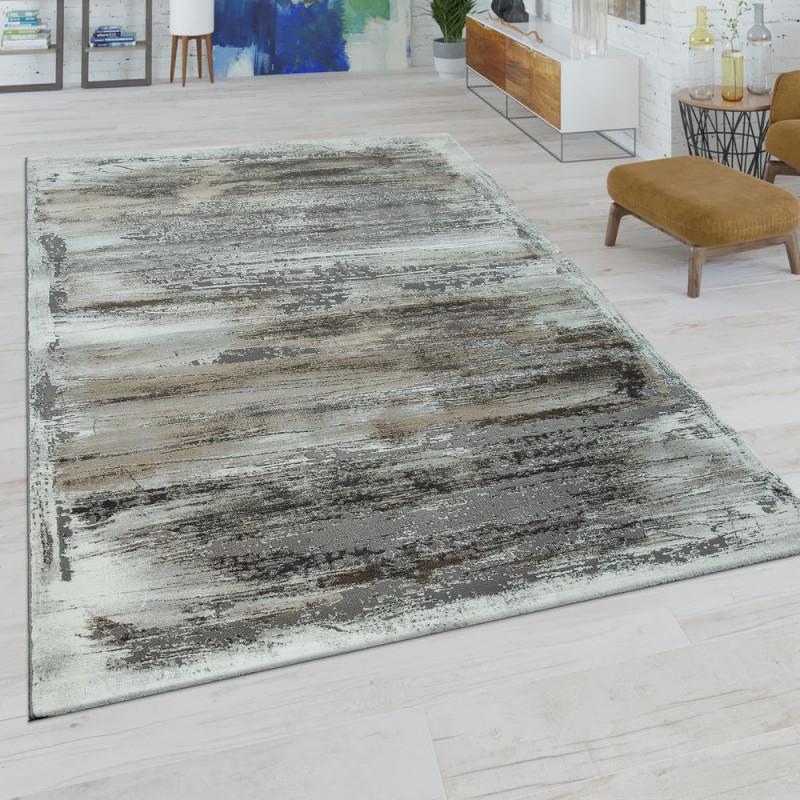 Wohnzimmer Teppich Modern Usedlook Muster von Wohnzimmer Teppich Modern Bild