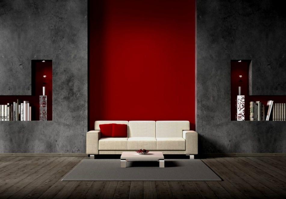 Wohnzimmer Wand Rot Streichen Check More At Httpcakhd von Bilder Wohnzimmer Rot Grau Bild