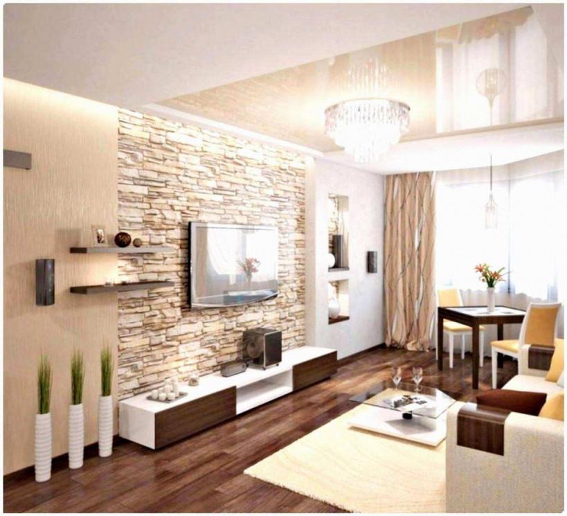 Wohnzimmer Wand Zweifarbig Streichen Ideen – Caseconrad von Ideen Für Wände Im Wohnzimmer Bild