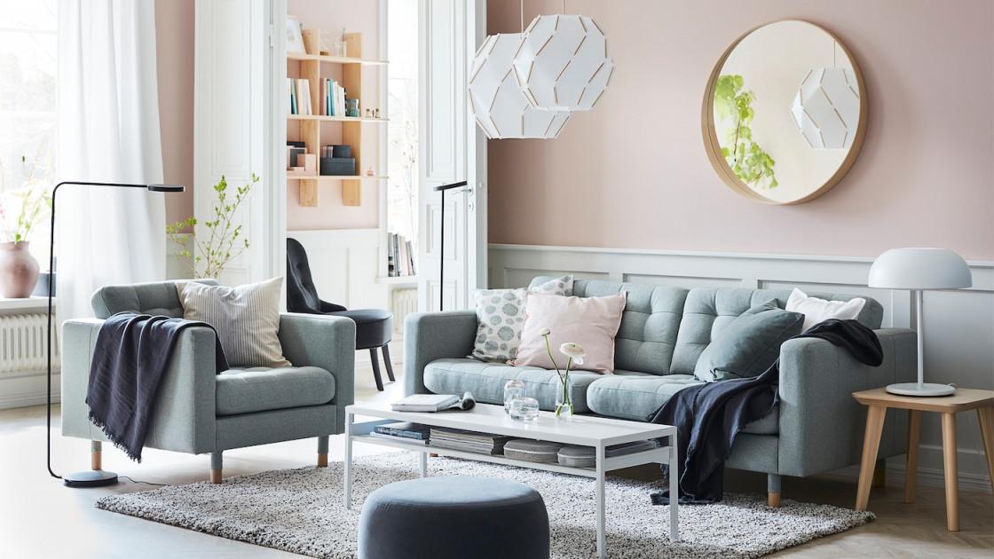 Wohnzimmer  Wohnbereich Ideen  Inspirationen  Ikea von Wohnzimmer Sofa Ideen Photo