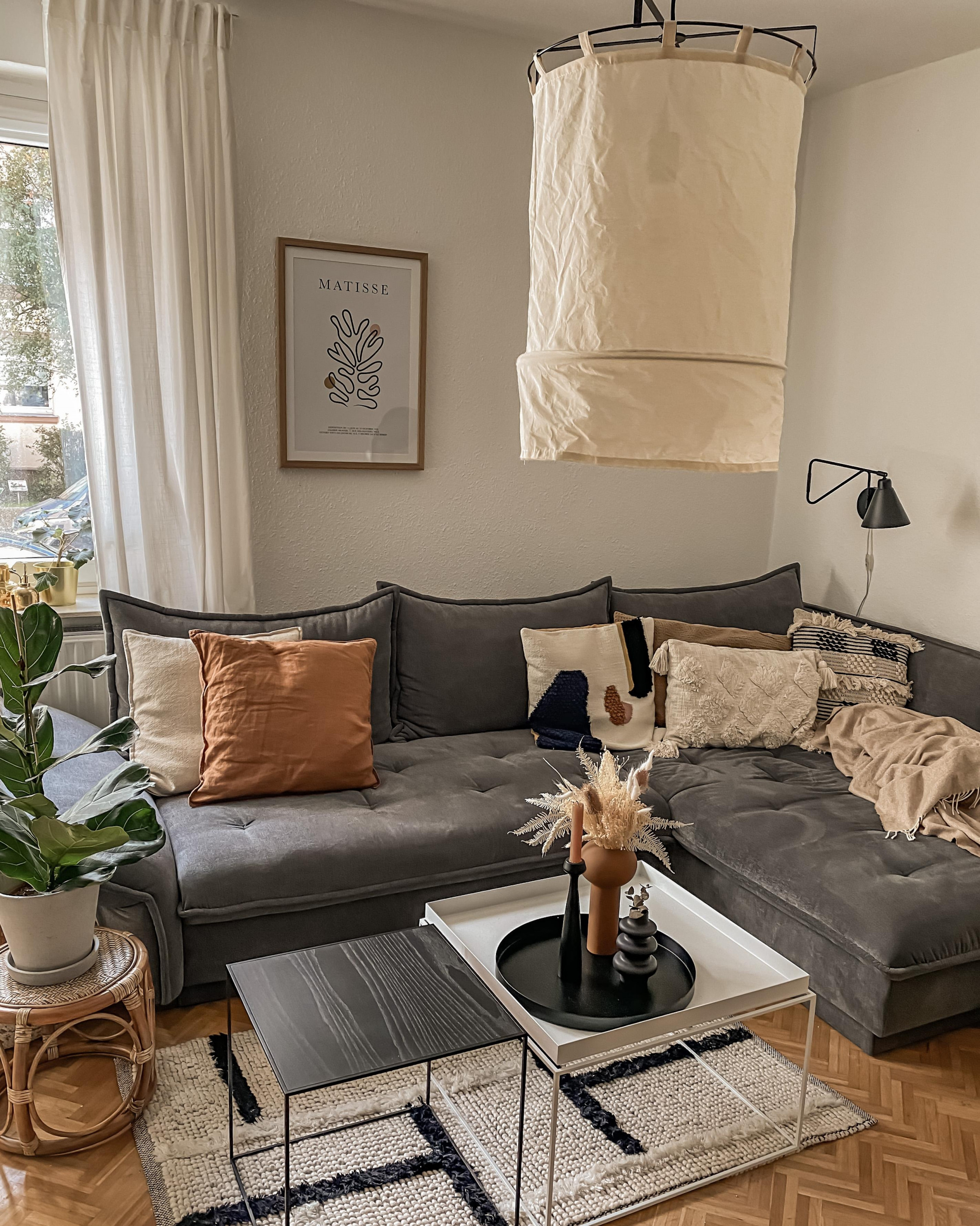 Wohnzimmerdekoideen Mach Es Dir Gemütlich von Wohnzimmer Deko Über Couch Photo