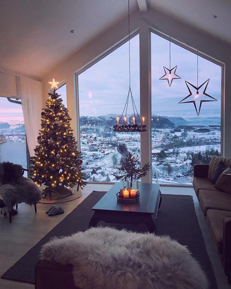 Wohnzimmerdekowohnzimmer Ideendekorationhome Ideenhome von Winter Deko Wohnzimmer Bild