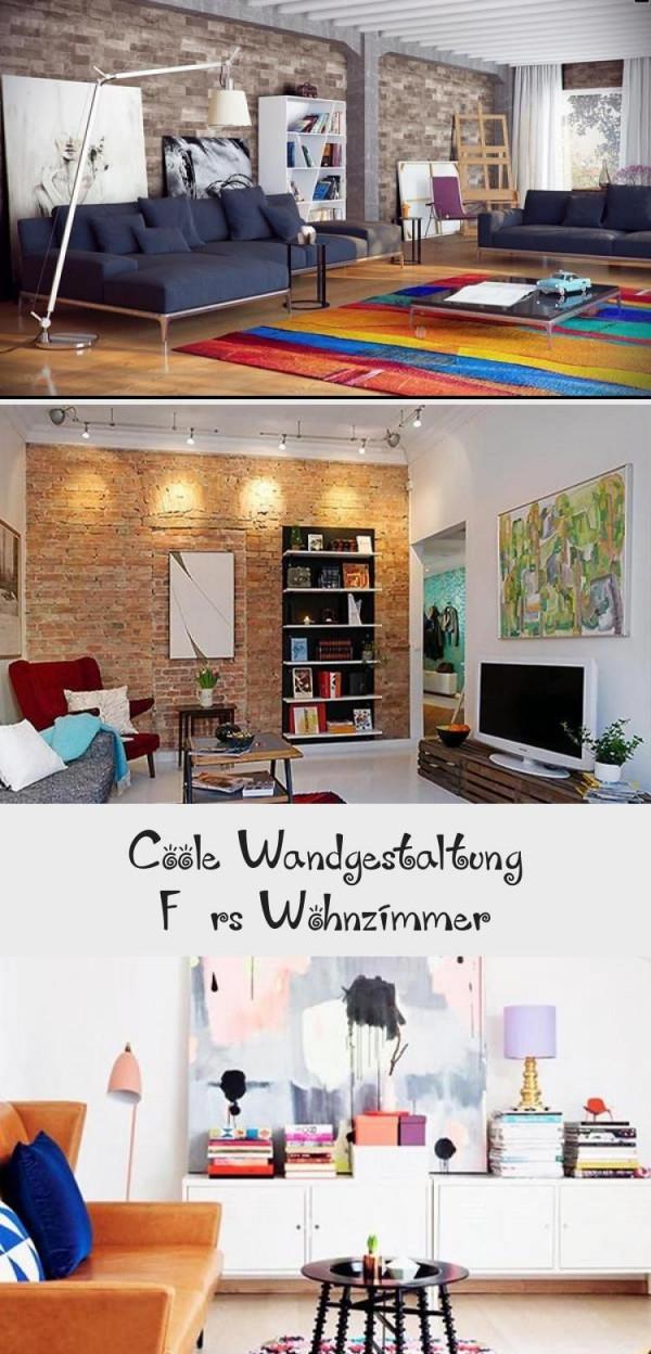 Wohnzimmerideenwandgestaltungdekorationinteriordesign von Coole Bilder Fürs Wohnzimmer Bild