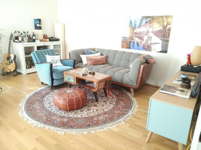 Wohnzimmerinspiration Mit Retro Sitzecke Schönem Orient von Sitzecke Ideen Wohnzimmer Bild