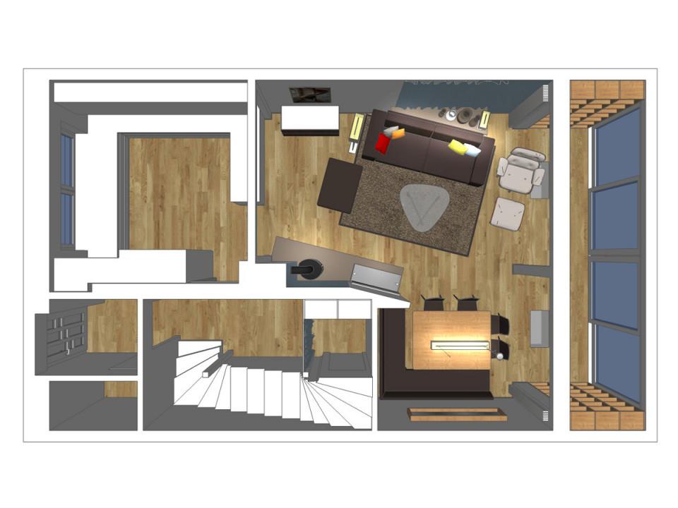 Wohnzimmerplanung Von Innenarchitekten  Raumax von Wohnzimmer L Form Einrichten Photo