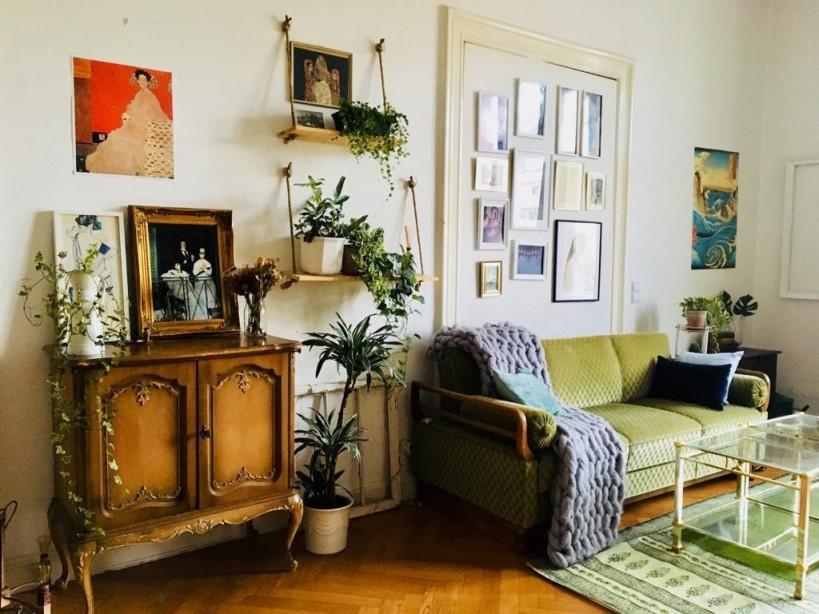 Wunderschöne Möbelstück Im Vintagestil Wohnzimmer von Retro Wohnzimmer Ideen Bild