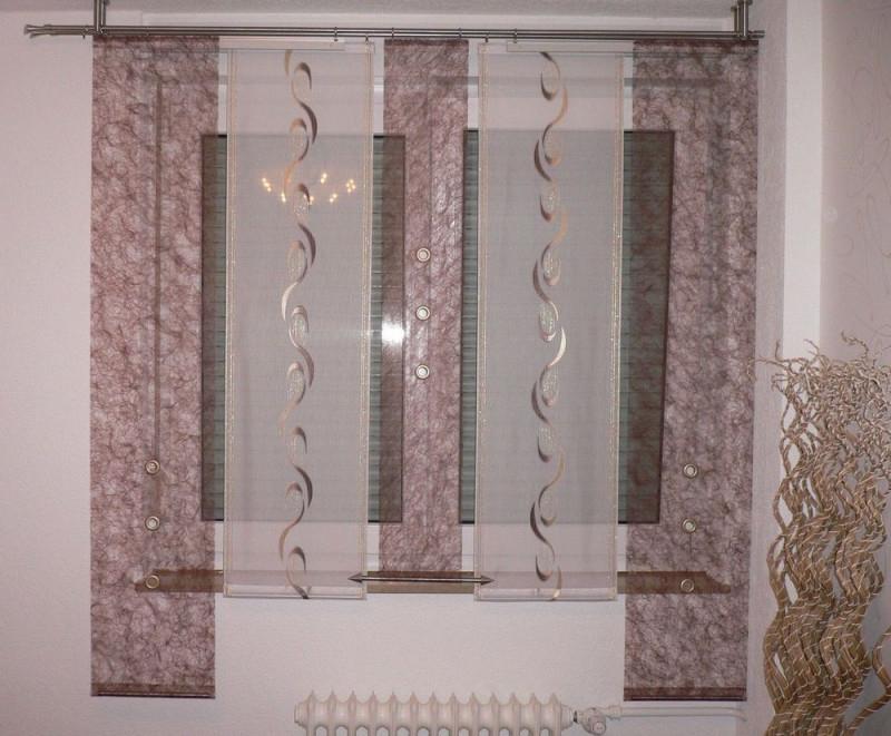 Wunderschönes Gardinenset In Der Farbe Braun Die von Fertige Gardinen Für Wohnzimmer Photo