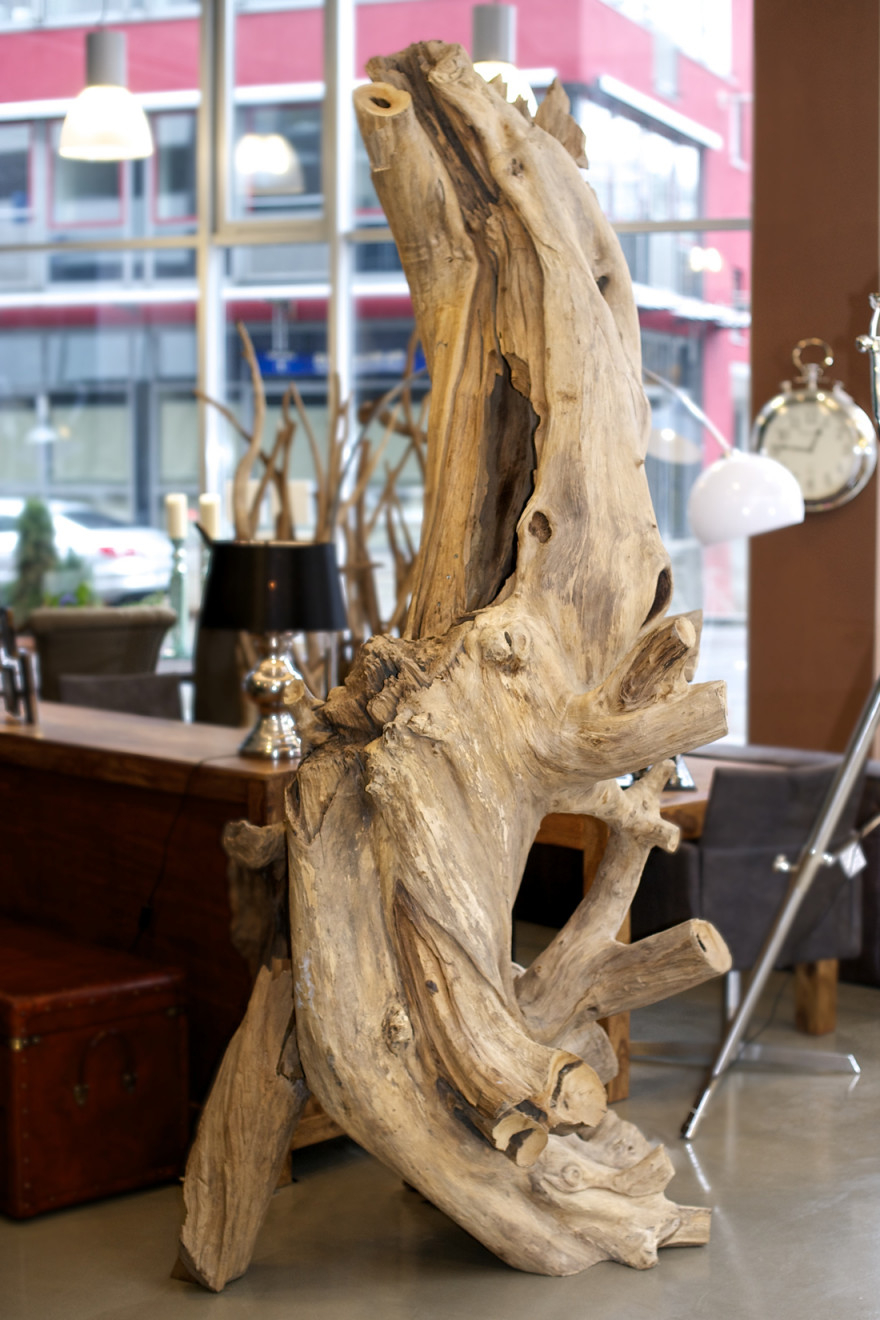 Wurzel Teakholz Xxxl  Rico Interior von Deko Wurzel Wohnzimmer Photo