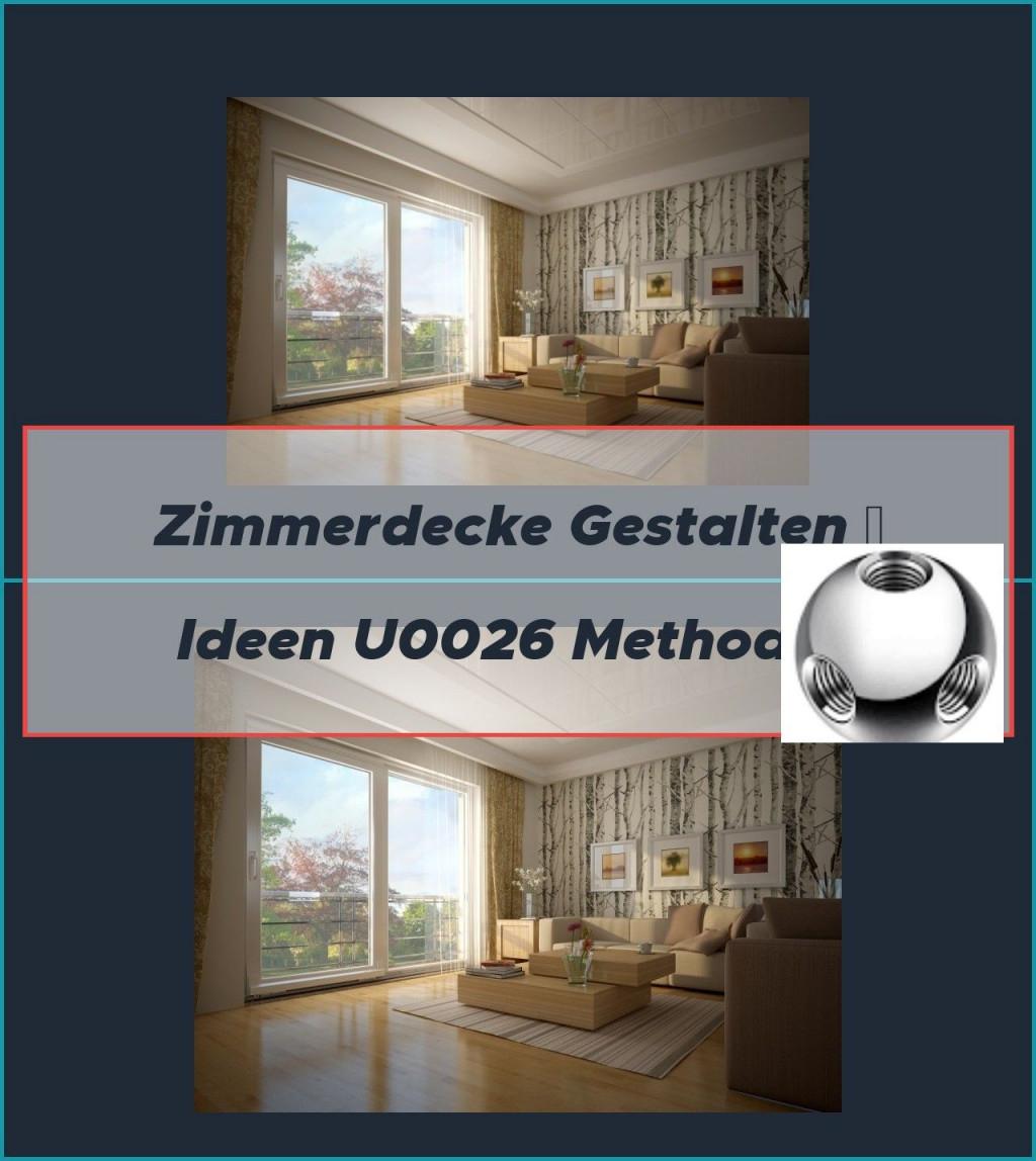 Zimmerdecke Renovieren  Diese Optionen Gibt Es In 2020 von Zimmerdecken Gestalten Wohnzimmer Photo